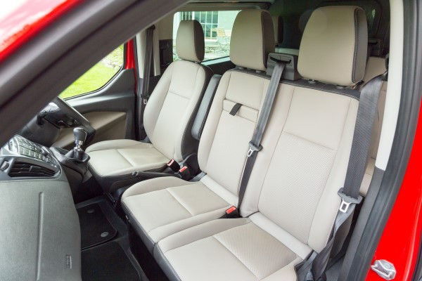 Ford Transit Custom seats