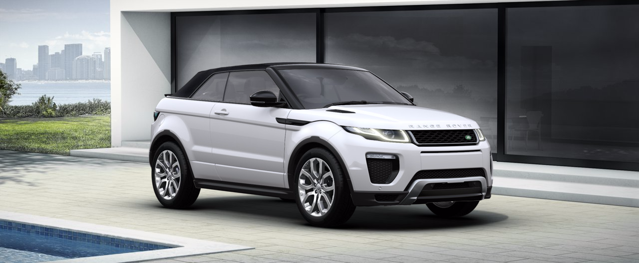 Range Rover Evoque Amp Convertible Colours Amp Prices Carwow
