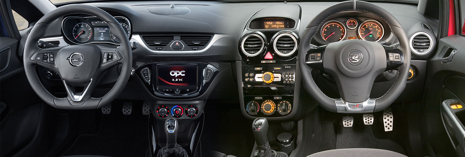 New 2015 vauxhall corsa opel opc new model vs old for Opel corsa e interieur