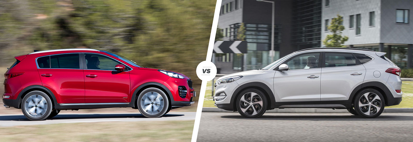 Beautiful Kia Sportage Vs Hyundai Tucson U2013 Driving