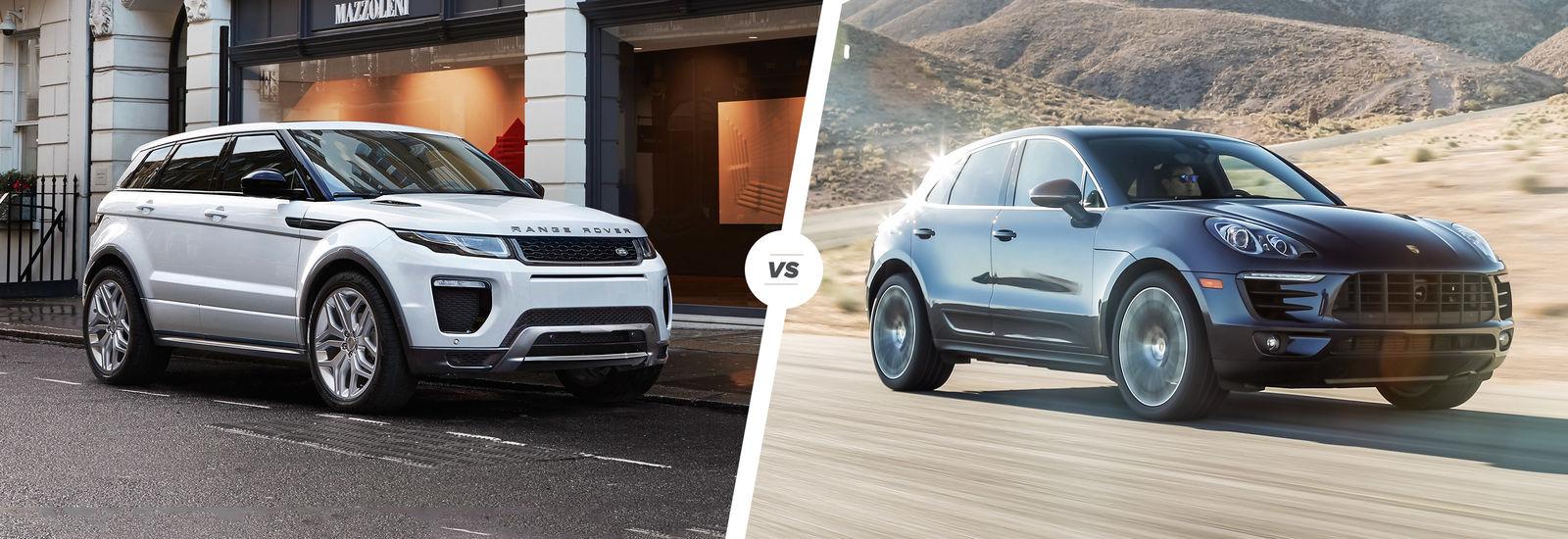Range Rover Configurator >> Range Rover Evoque vs Porsche Macan: SUV smash | carwow