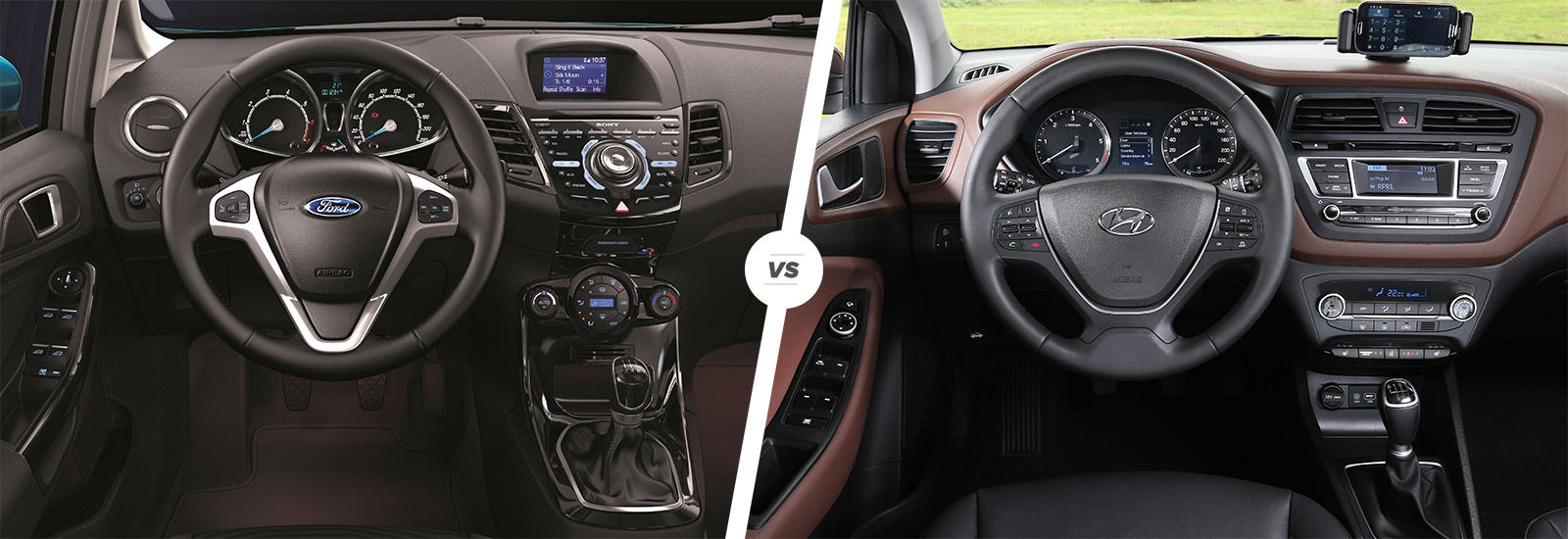 Ford Fiesta Vs Hyundai I20 Comparison Carwow