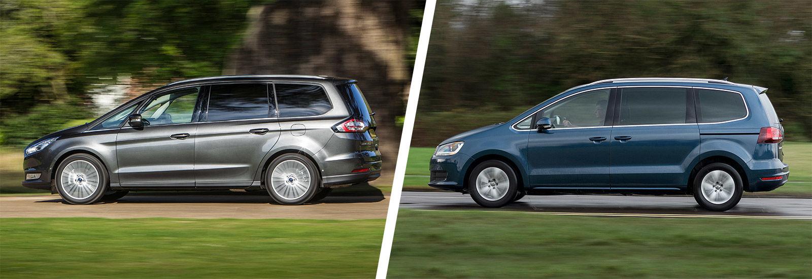 Sliding interior doors - Ford Galaxy Vs Volkswagen Sharan Mpv Comparison Carwow