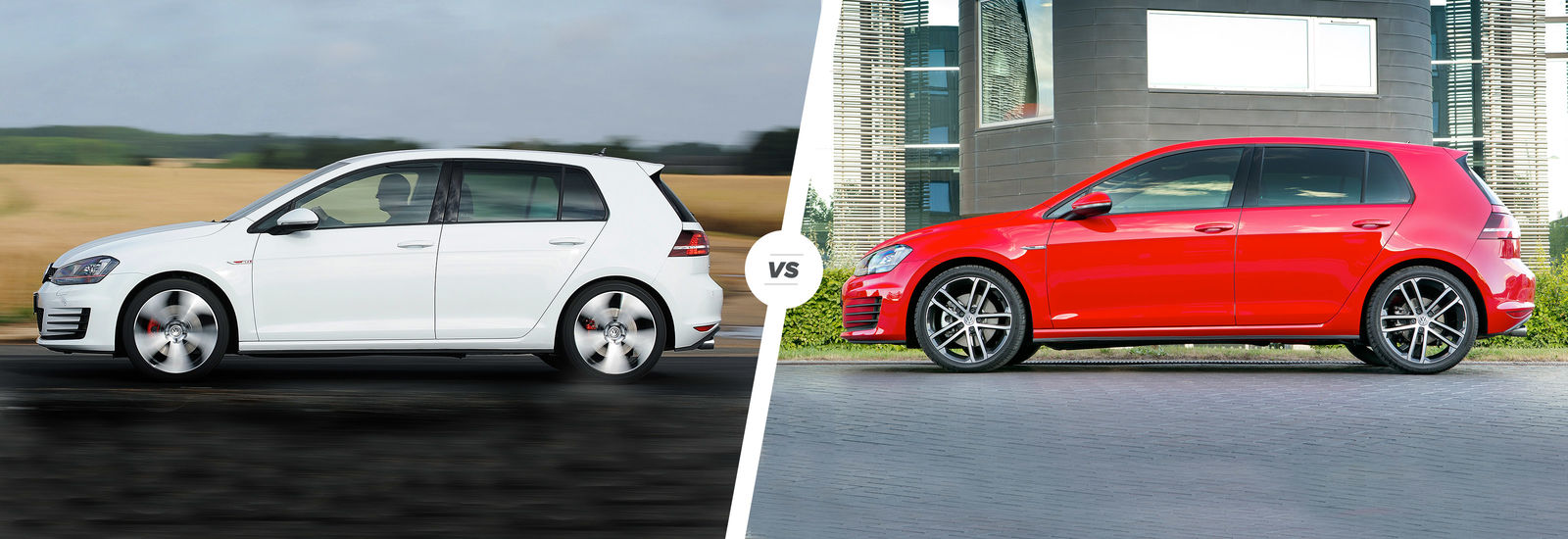 vw golf gti vs golf gtd battle at the pumps carwow. Black Bedroom Furniture Sets. Home Design Ideas