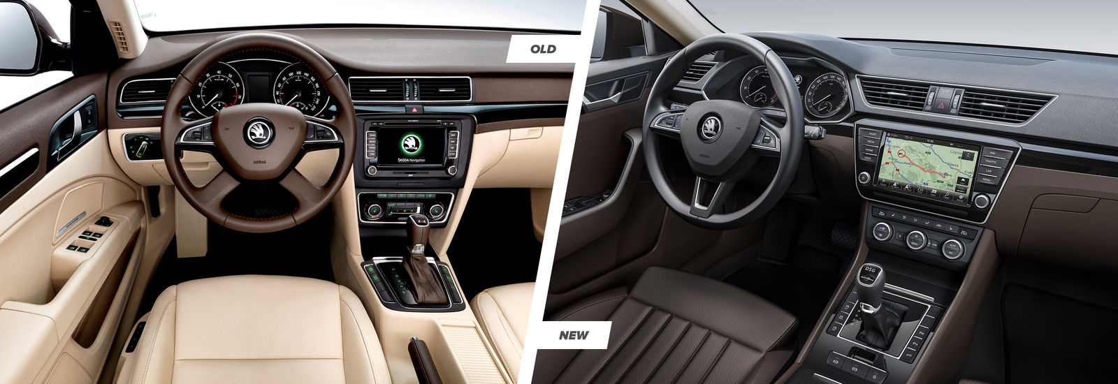 2015 Skoda Superb - old and new compared | carwow