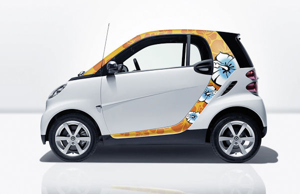 smart fortwo girly
