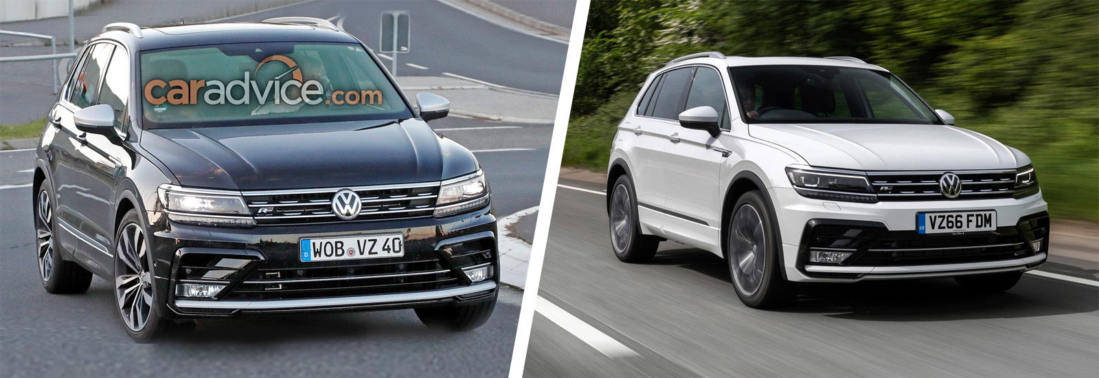 vw tiguan r price specs and release date carwow. Black Bedroom Furniture Sets. Home Design Ideas