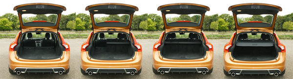 Volvo V60 boot space