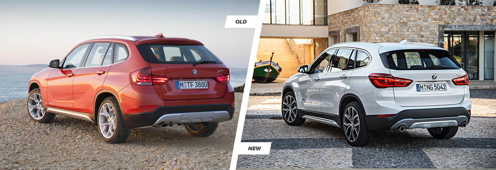 2015 bmw x1 old vs new compared carwow. Black Bedroom Furniture Sets. Home Design Ideas