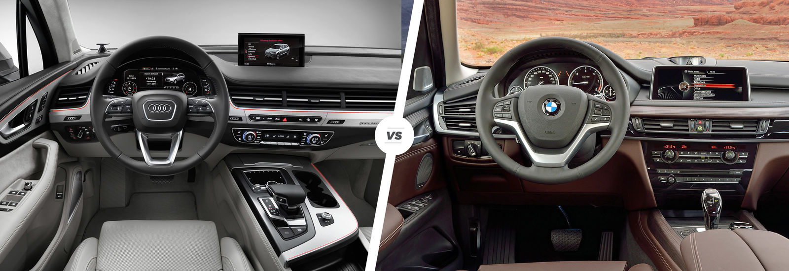 Audi Q7 Vs Bmw X5 Luxury Suv Showdown Carwow