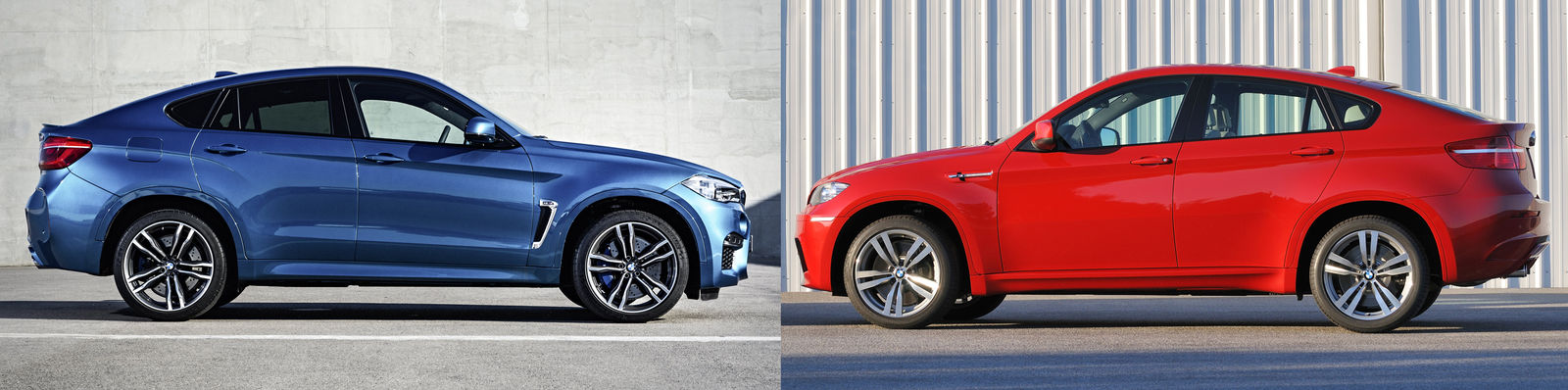 2015 bmw x6 m old vs new compared carwow. Black Bedroom Furniture Sets. Home Design Ideas