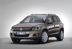 New tiguan front