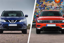 Qashqai vs tiguan feature 2 0