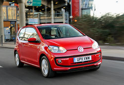 Vw up red
