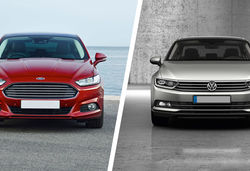 Ford Mondeo vs Volkswagen Passat – family saloons compared