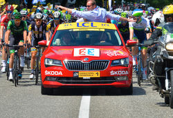 Skoda superb cyclists