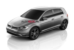 Vw golf facelift lead