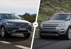 Volvo XC90 vs Land Rover Discovery Sport