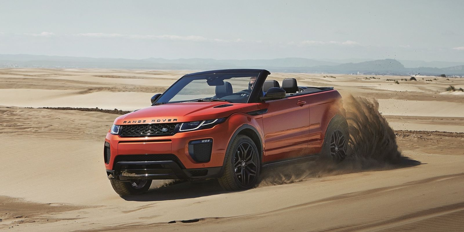 land rover range rover evoque convertible review deals carwow. Black Bedroom Furniture Sets. Home Design Ideas