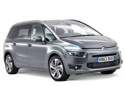C4 grand picasso grey front